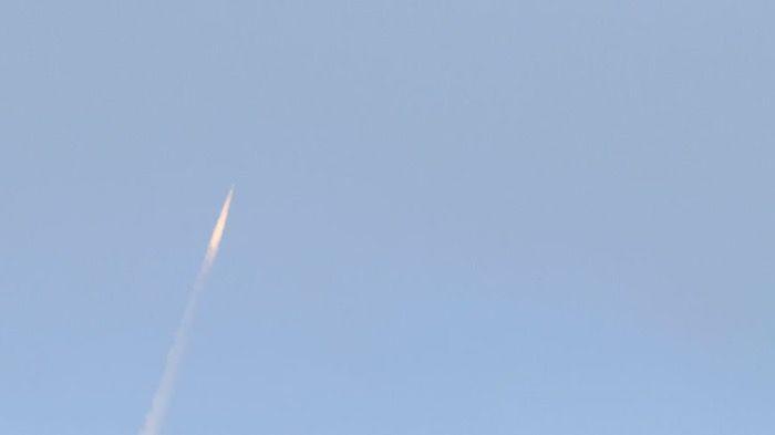 Explosion d'un Missile nouvelle génération
