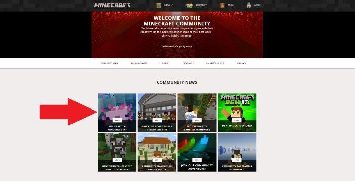 MINECRAFT: LA VERSION 2.0 CONFIRMÉE PAR MOJANG