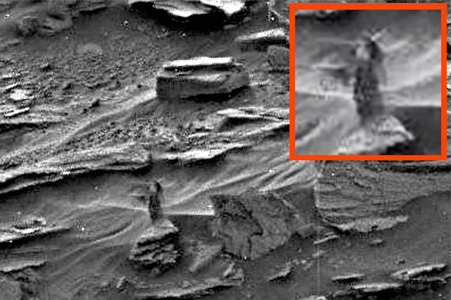 La NASA no ha podido la identificar figura en Marte