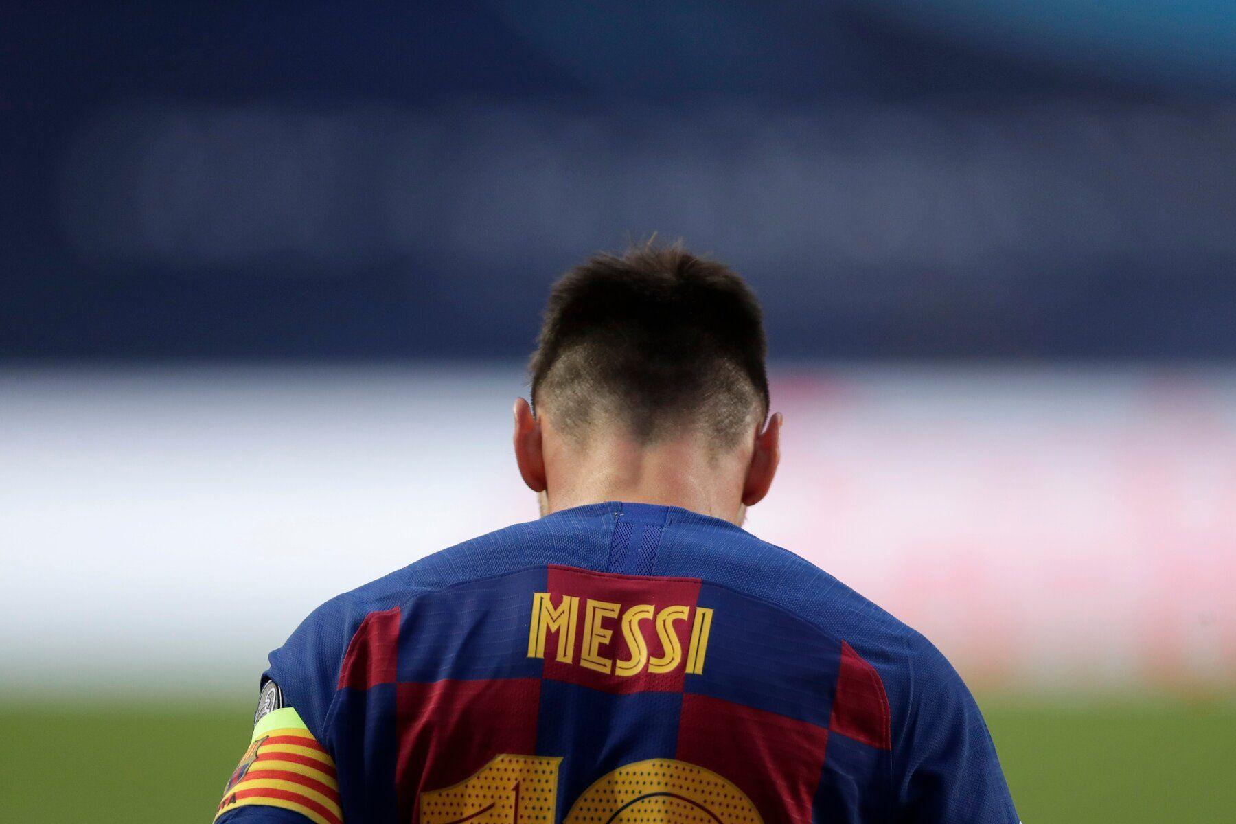 Messi positivo por covid