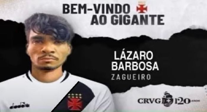Lázaro está vivo e vai jogar no Vasco!