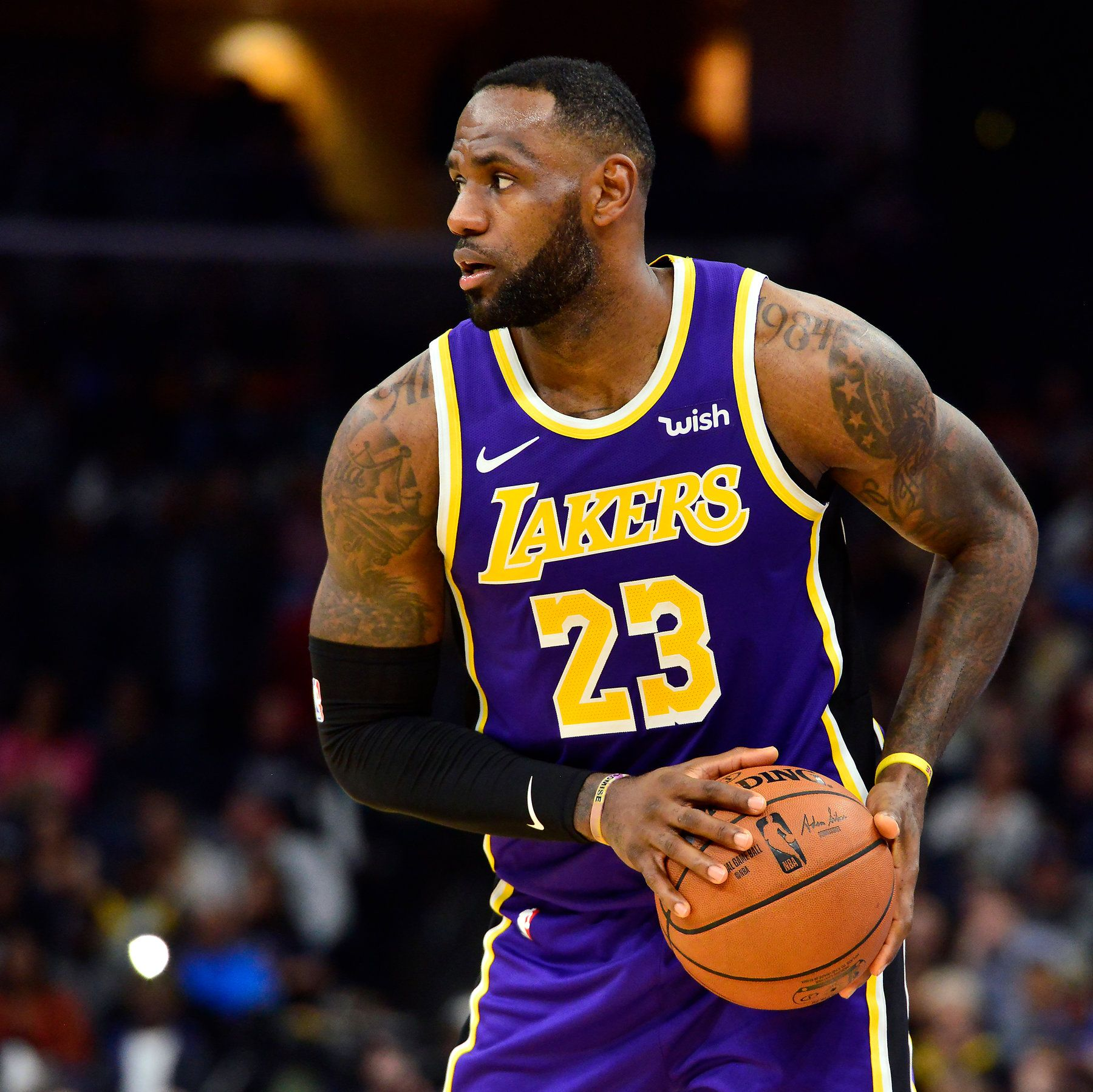 Lebron James killed in car accident